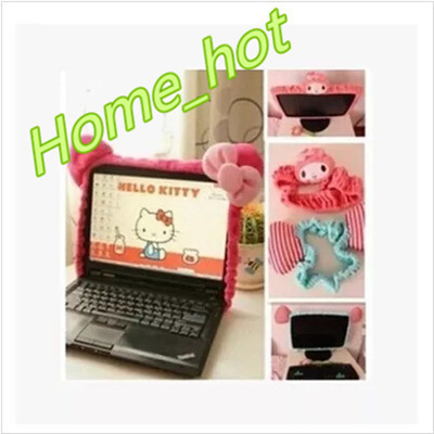 Qoo10 - Hello Kitty notebook computer liquid crystal display set decoration  of...   Furniture   Deco 65d298f0bac17