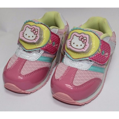 READY STOCK IN SG  HELLO KITTY SHOES-PINK K 714740  ORIGINAL LICENSE c77e5b46c