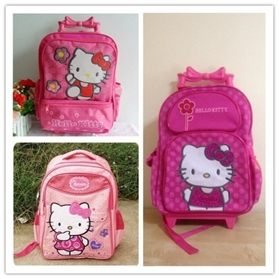... Qoo10 - Hello Kitty School Bag Backpack Trolley School Bag quality  design 842b0 fc933 ... 308c93b9a050a