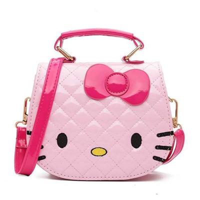 21bdff010 Hello Kitty Sling Bag Princess Female Mini Handbag Shoulder Bag Children  Girls Cute Cartoon Tote Bag