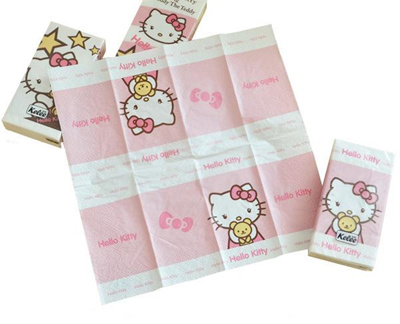 Qoo10 Hello Kitty Tissue Paper With Cute Design Cosmetics