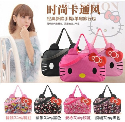 8cf3600a5 Hello Kitty Travel Bag / Hand Carry Luggage