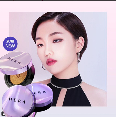 Hera Hera 2018 New Uv Mist Cushion Ultra Moisture Cushion Black Cushion Tt