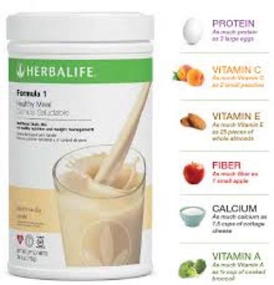 herbalife shake dietary fiber