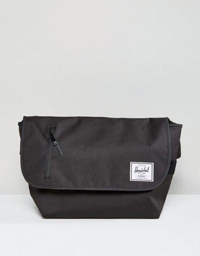 87bc2c786c02 Qoo10 - Herschel Supply Co. Odell Messenger Bag in Black   Men s Bags    Shoes