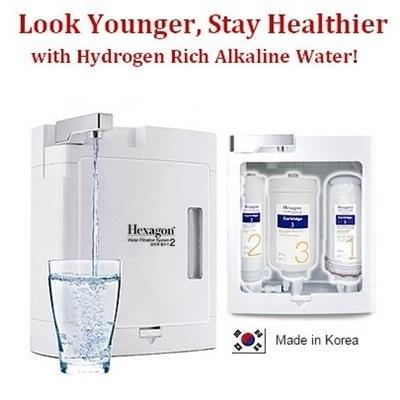 Qoo10 Hexagon Water Filtr Small Appliances