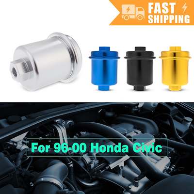 qoo10 - high flow fuel filter performance racing for 96-00 honda civic  k1408|2    : collectibles & b