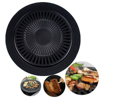 High Quality Smokeless Barbeque Grill for Household Gas Stove Indoor Black Stove Top Grill Brazilian Grill