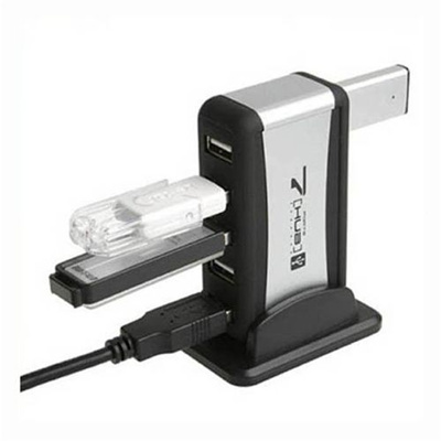 Adapter Converter 7 Port USB 2.0 HUB with AC Power For PC Laptop Computer
