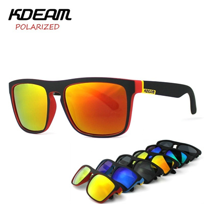 47d35c978e Qoo10 - Highly Recommended KDEAM Mirror Polarized Sunglasses Men Square  Sport ...   Watch   Jewelry