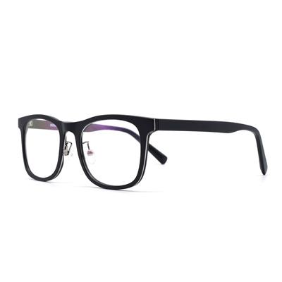 79f05bd39bf Qoo10 - HKUCO Casual Fashion Horned Rim Rectangular Black Frame Clear Lens  Eye...   Fashion Accessor.