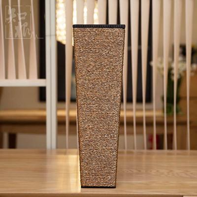 Captivating Home Decoration Vase Modern Fashion Floor Vase Wooden Vase Simulation Fake  Flower Vase Large Gold