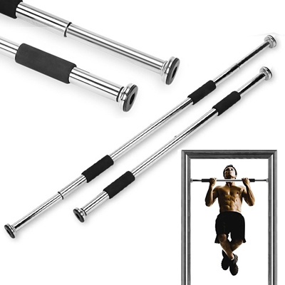 Home Door Exercise Bar Chin Pull Up Workout Training Gym Size Adjule Fitness