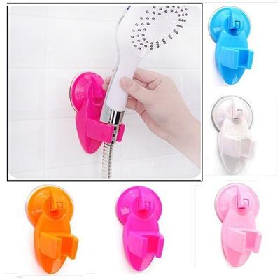 Wall Mount Vacuum Suction Shower Head Holder Powerful Suction Bracket Bathroom