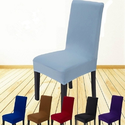 Home Living Dining Chair Covers Spandex Stretch Room Protector Slipcover Decor