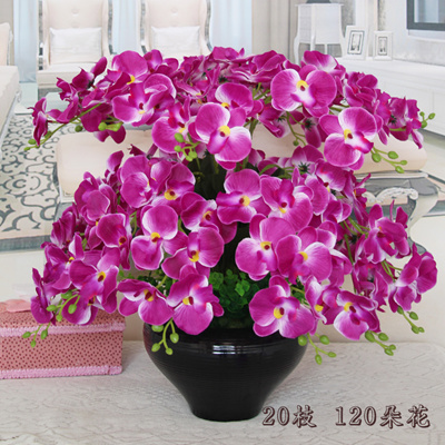 Qoo10 - Home living room bedroom fake potted plant floor silk ...
