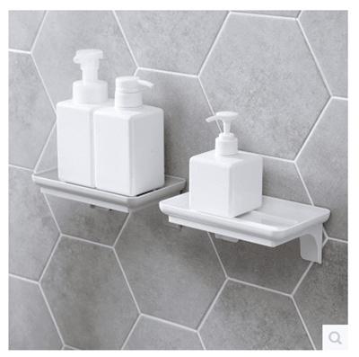 Qoo10 - Home paste bathroom shelves toilet wall shelf kitchen free ...