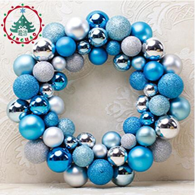 Christmas Ball Garland.Home Shop Decorative Item 34cm Christmas Ball Garland