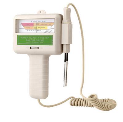 Home Swimming Pool Aquarium Test Monitor Water PH/CL2 Chlorine Tester Level Meter  PH Tester