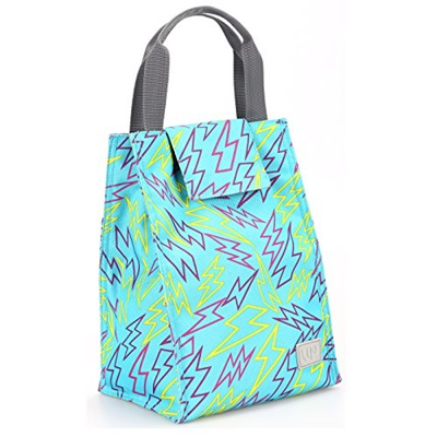 Homeasy Insulated Lunch Cooler Bag Box Freezable Womens Tote With Strong Velcro
