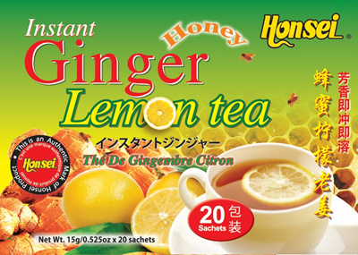 Qoo10 - Honsei Instant Lemon Ginger Honey Tea Sachets The ...