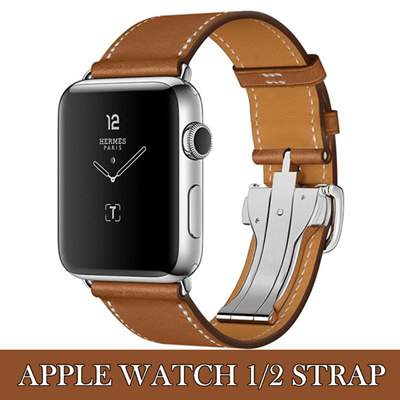 Genuine Le Watch Series 1 2 Office Leather Strap
