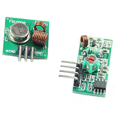 Hot 433Mhz RF transmitter and receiver kit for Arduino/ARM/WL MCU Raspberry  pi