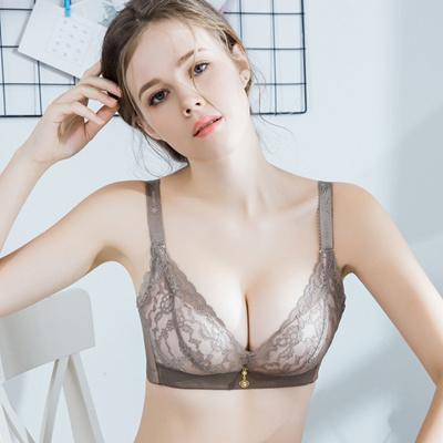 b13e370d852 Qoo10 - Hot Fashion Lady Women s padded bra Underwire Deep-V Sexy  Embroidered ... : Underwear & Sock.