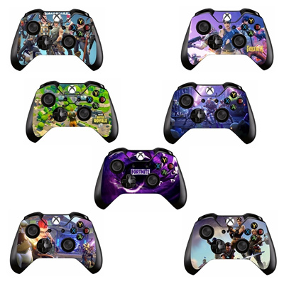 Hot Game Fortnite Skin Sticker Decal For Microsoft Xbox One Game Controller Skins Stickers For Xbox