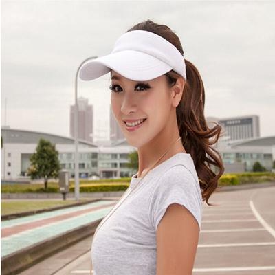 huge discount a0dcc b02b0 Qoo10 - HOT Modern Men Women Cozy Visor Sun Plain Hat Golf Tennis Beach  Sports...   Fashion Accessor.