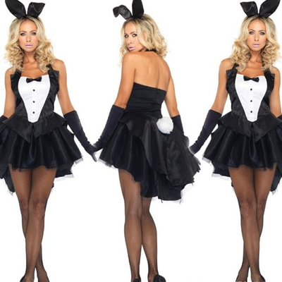 Hot Sale Anime Fantasy Cosplay Rabbits Costume Halloween Performance For Women
