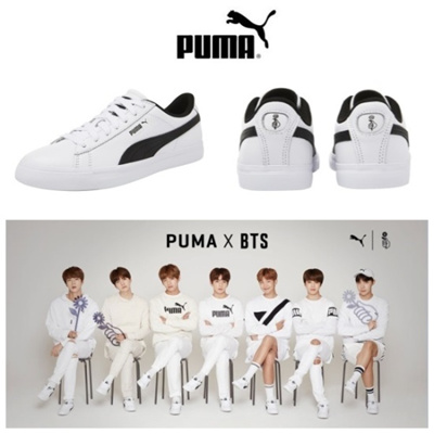 84f8287bbef2 Qoo10 -  Hot Sale  !!! BTS Bangtan Official Goods PUMA X BTS COURT ...