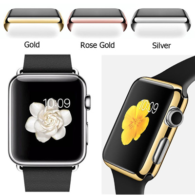 5939fa801bfdc1 Hot SALE metal electroplating case for apple watch 38MM 42MM full cover for  iwatch shelter screen
