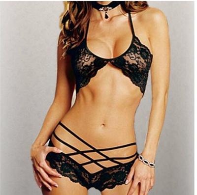 b26a8e806f Qoo10 - Hot sales Sexy Woman Lace Sleepwear Halter Underwear Lingerie  G-string...   Underwear   Sock.