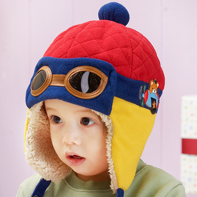 d39fb6ee270f Hot sales Toddlers Cool Baby Boy Girl Kids Infant Winter Pilot Aviator Warm  Cap