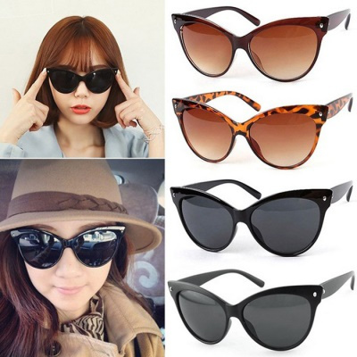 00c1684a578 Hot Summer Charming Womens Classic Vintage Cat Eye Shape Glasses Shades  Frame Sunglasses Eyeglasses