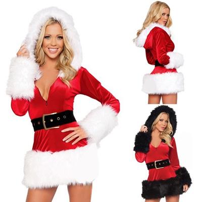 Qoo10 Hot Women Santa Claus Father Christmas Fancy Dress Suit