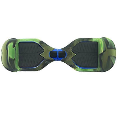 Hoverboard Silicone Case for SWAGTRON T1 Electric Self Balancing Scooter  Full-Body Scratch Protector