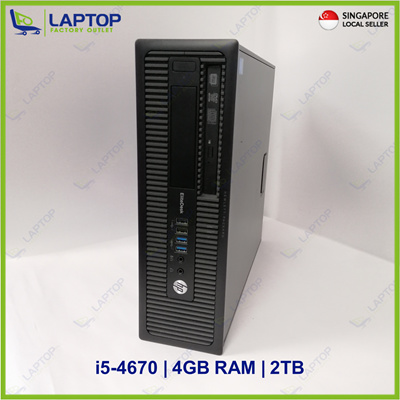 Qoo10 - HP EliteDesk 800 : Computer & Game
