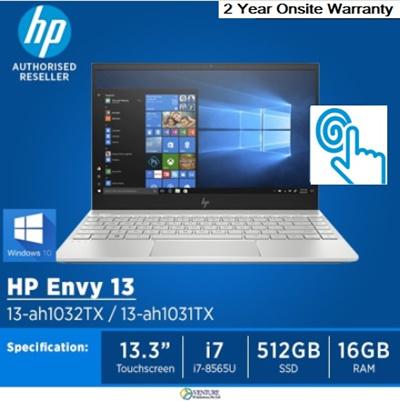 HPHP ENVY 13-ah1032TX and ah-1031TX Notebook|13 3 Inch Lightweight Laptop|