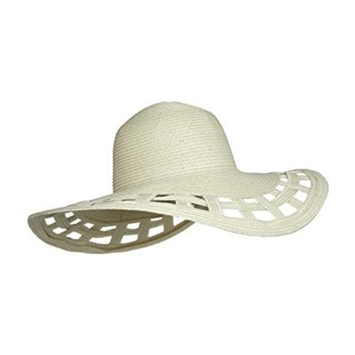 Qoo10 - Hq Cute Straw Derby Sun Hat w Square Cut-Outs 33ac076c191