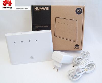 HuaweiHUAWEI B310 B310S-22 150Mpbs 4G LTE CPE Wireless Router Wiht Sim Card  Slot Support B1 B3 B7 B8 B20