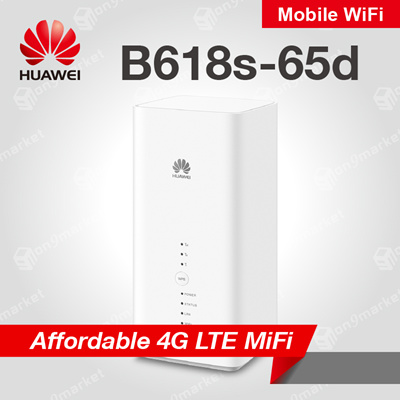 HuaweiHuawei B618 B618s-65d 4G LTE CAT11 Sim Card Router Mobile Wifi Router  World Fastest!!
