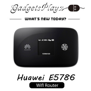 Huawei E5786 Cat 6 4G LTE-Advance 300Mbps 2CA Mobile Wifi Router -  International Version Unlock