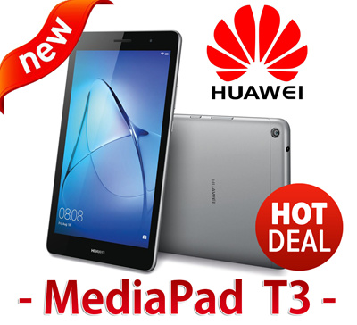 Huawei★On HOT DEAL!!★ HUAWEI MEDIAPAD T3 8 / 10 /2GB RAM 16GB ROM SD SLOT  ANDROID IPS WIFI DUAL CAMERA