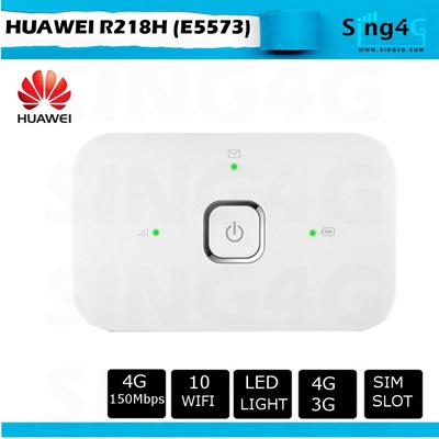 [huawei]Huawei R218h (e5573) 150mbps 4G Mifi Portable Hotspot