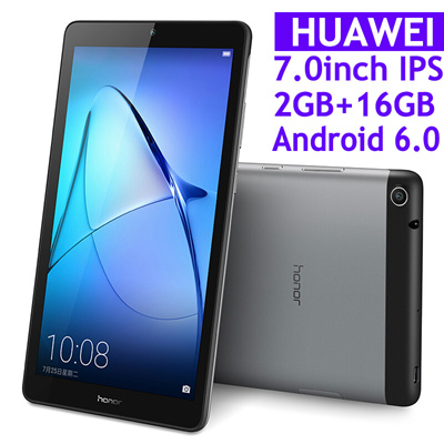 Huawei Tablet【Latest in Stock】Original Huawei MediaPad T3 7 0inch IPS  Screen Tablet PC WiFi 2GB RAM 16GB ROM Quad Core Android 6 0