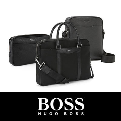 e6915e2465  Free Shipping  HUGO BOSS Signature collection bags