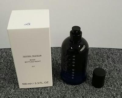 Qoo10 Perfume Hugo Boss Bottled Night Men Brand New Tester 100ml