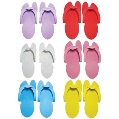 82b4c61b232f Qoo10 - Huini Disposable Pedicure Salon Blue Flip Flop Slippers Nail Foam  Foot...   Furniture   Deco